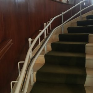stairlift curved rail